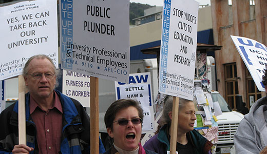 Protests continue vs. cuts in Calif.'s public higher education