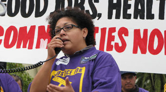 Californians rally for jobs