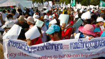 Race to the bottom for sweatshop workers