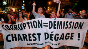 Support grows for striking Quebec students