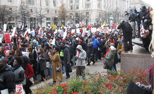 Marches against police killings sweep the nation