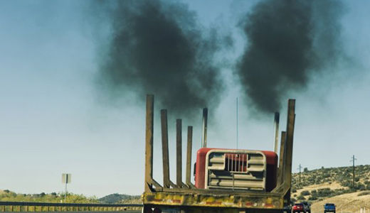 Obama not waiting for Congress, curbs bus and truck emissions