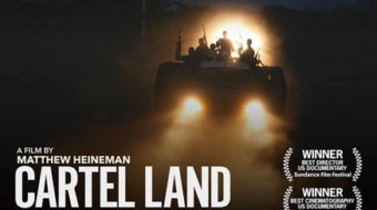 """Cartel Land"" reviewed, and Mammoth Lakes Film Festival awards"