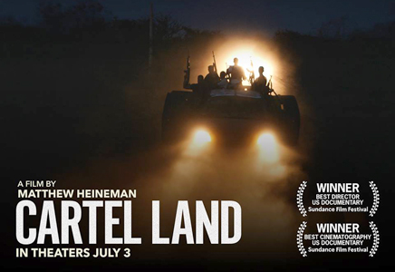 """""""Cartel Land"""" reviewed, and Mammoth Lakes Film Festival awards"""
