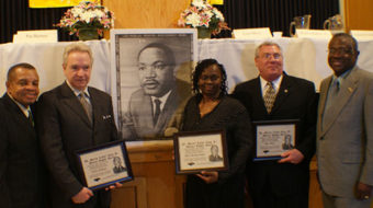 Black unionists link MLK Day with action