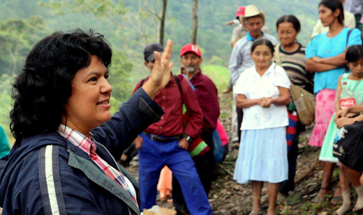 Berta Cáceres, Indigenous environmental leader, murdered in Honduras