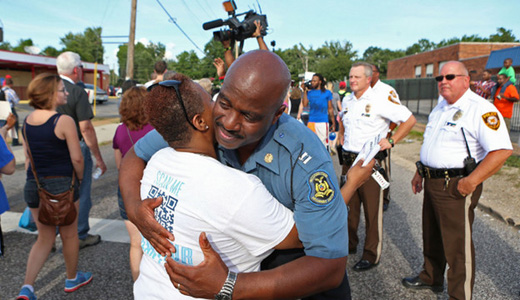 Across the country: Peaceful protests against police killing in Ferguson