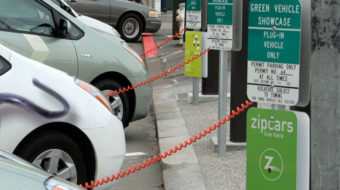 IBEW members to install electric car charging stations