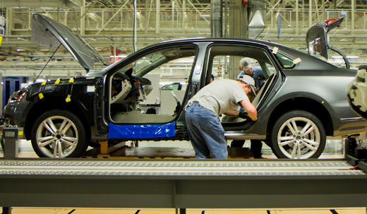Union to be put in place at VW Chattanooga plant after all