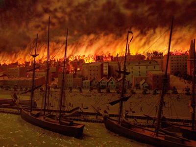 Oct. 8 in Labor History: The Great Chicago Fire