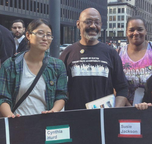 Chicagoans rally for an end to racist violence