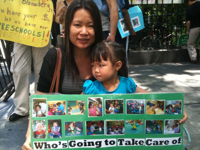 Families to Bloomberg: don't cut our kids