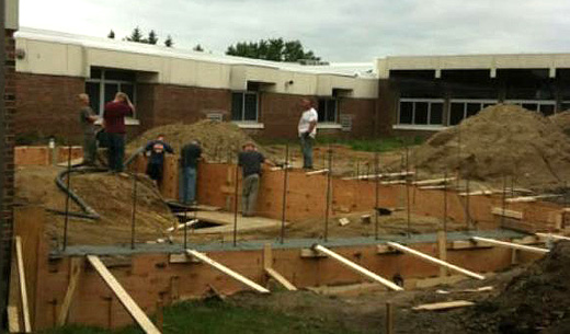 Are children working on Minnesota school construction sites?