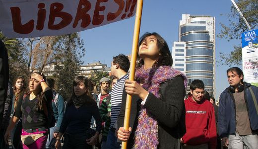 Amidst global Occupy movement, Chilean students show the way