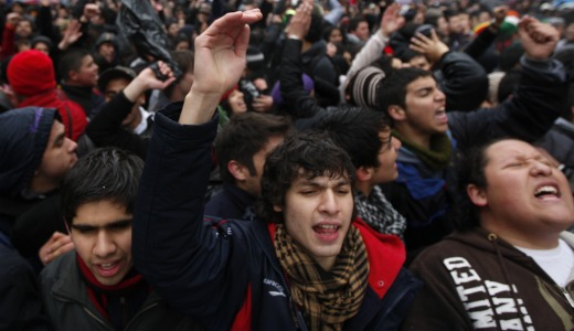 Chilean communists take a hit as protests mount