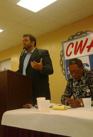 Activists, union leaders attend Peace & Justice Awards Breakfast