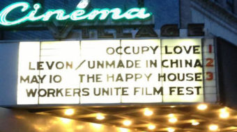 Workers Unite Film Festival opens May 9 in NYC
