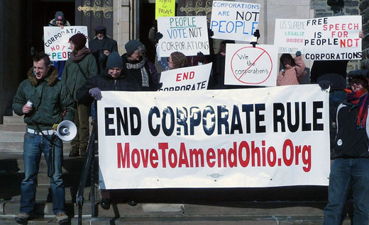 Movement to end corporate personhood grows