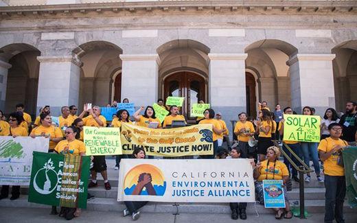 Californians battle for far-reaching climate legislation