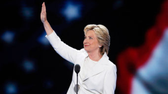 Hillary Clinton at DNC: America at a time of reckoning
