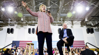 Rolling out the Clinton-Kaine ticket