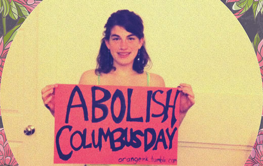 Goodbye Columbus, welcome Indigenous People's Day