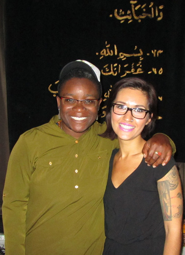"Two trailblazing performers ""Coming out Muslim"""