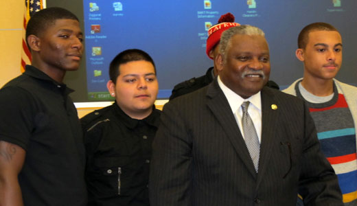 Plan to help minority males unveiled