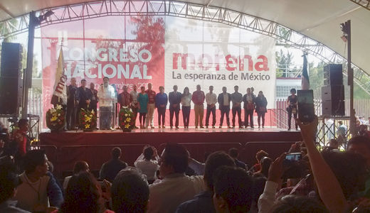 Mexico's Morena political party sets course for 2018