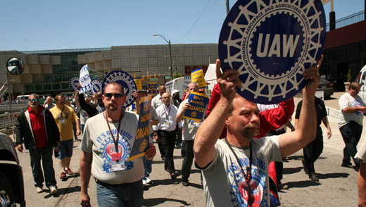 UAW and all unions need membership participation