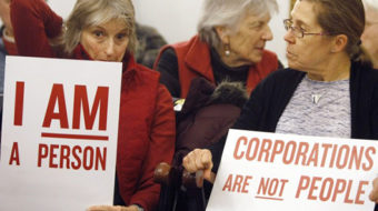 Three-fifths a citizen: Are corporations really people?