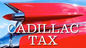 "Obama budget keeps ""Cadillac tax"" on union health plans"