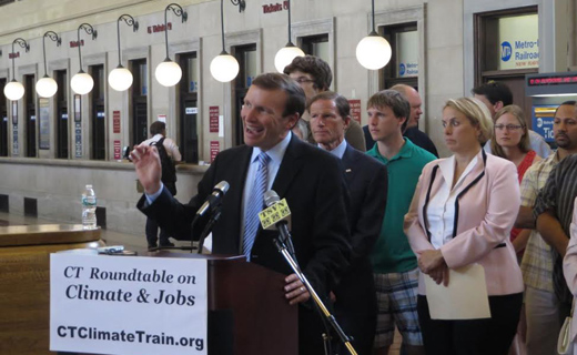 Get on board the CT Climate Train
