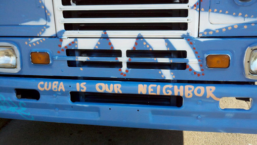 Caravanistas rally support in Oregon to end blockade of Cuba