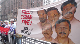 International labor pushes to free the Cuban Five