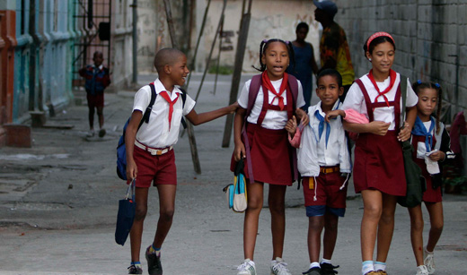 Cuba celebrates International Children's Day