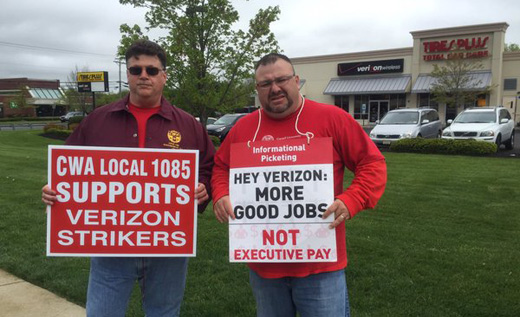 Verizon worker explains why she strikes in open letter to CEO