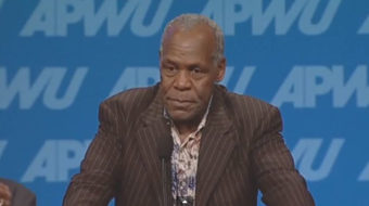 """On union's push to save postal service, Danny Glover says, """"I'm in"""""""