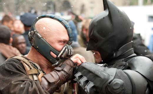 """The Dark Knight Rises"" above expectations"