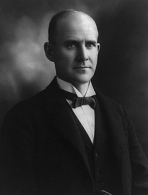 Today in labor history: Eugene Debs sentenced to 10 years for opposing WWI