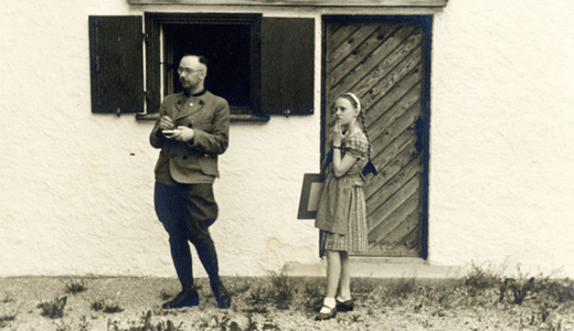 "In ""The Decent One,"" Heinrich Himmler: Dedicated family man"