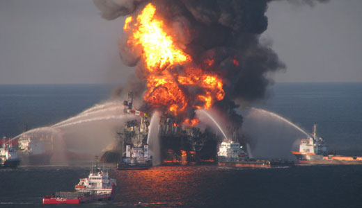 Today in environmental history: Deepwater Horizon spills into Gulf of Mexico