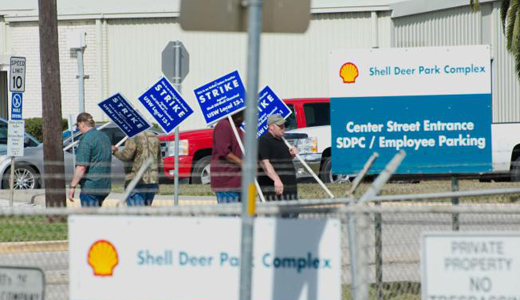 Oil industry obstinance on safety forces steelworkers to strike