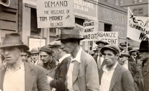 Today in labor history: Labor radical Tom Mooney freed