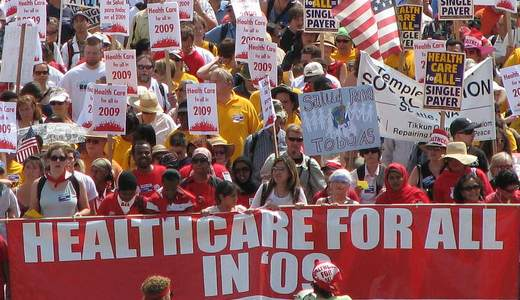 Health reform backers gaining support
