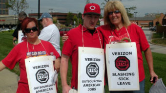 St. Louis labor and community rallies to support Verizon strikers
