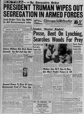 Today in history: End of military segregation