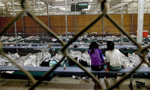 Arriving without their parents: Child refugees being warehoused on the U.S. border