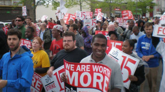 "Fast food wages equal ""junk food money"""