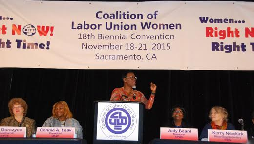 CLUW convention delegates to use health info to empower union women